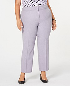 Plus Size Stretch Crepe Pants