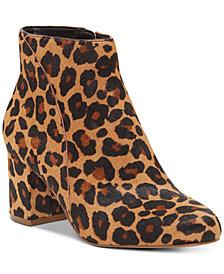 I.N.C. Floriann Block Heel Bootie, Created for Macy's