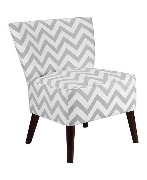 Dorel Living Maude Chevron Accent Chair