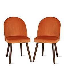 NovoGratz Burma Upholstered Dining Chair, 2-Pack