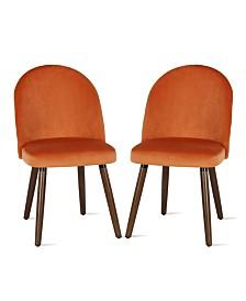 NovoGratz Burma Upholstered Dining Chair, 2-Pack