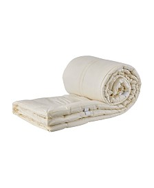 "Sleep & Beyond Mytopper, Washable Wool Mattress Topper, Crib, 1.5"" Thick"