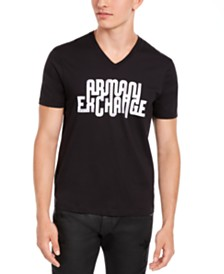 A|X Armani Exchange Men's Looped Logo T-Shirt