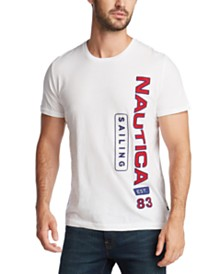 Nautica Men's Sailing Logo Graphic T-Shirt