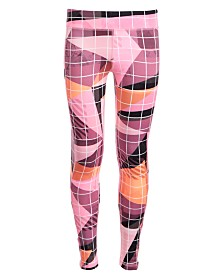 Ideology Big Girls Printed Caged Leggings, Created for Macy's