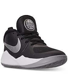 Nike Boys Team Hustle D 9 Basketball Sneakers from Finish Line
