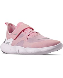 Little Girls Free RN 5.0 Running Sneakers from Finish Line