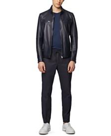 BOSS Men's Noklin Leather Jacket