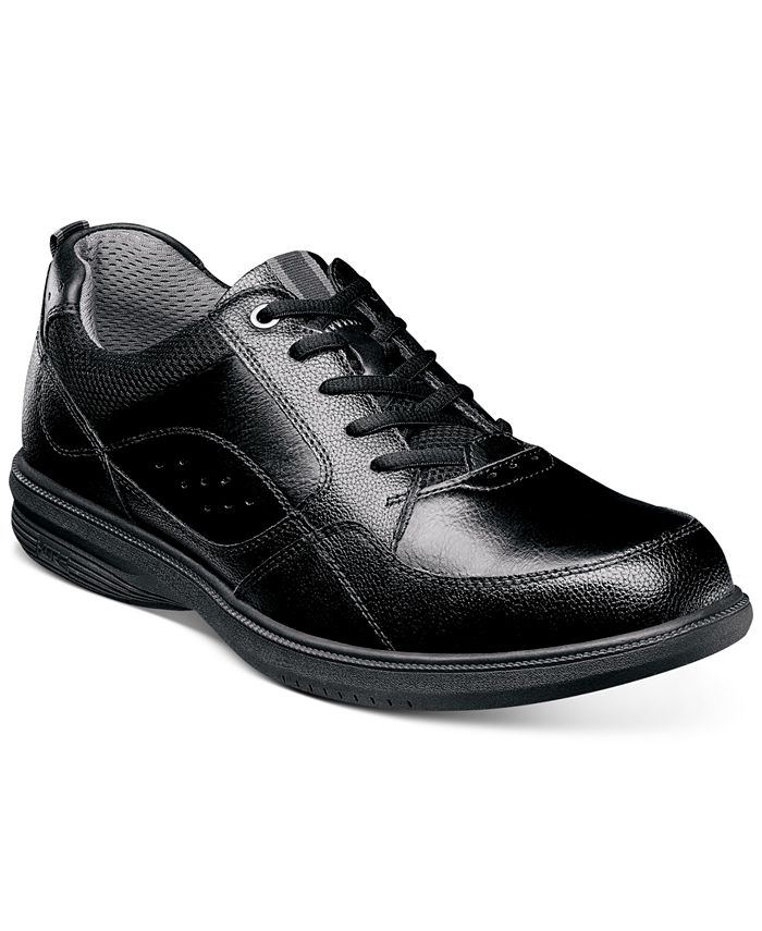 Nunn Bush - Men's Walk Moc-Toe Lace-Up Oxfords