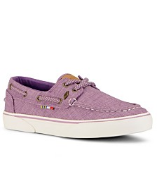 Guy Harvey Women's Gulf Linen Sneaker