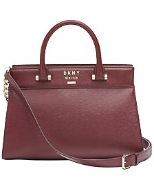 DKNY Ava Leather Satchel, Created for Macy's