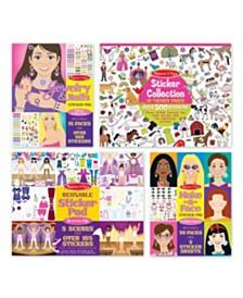 Melissa and Doug Girls Sticker Bundle