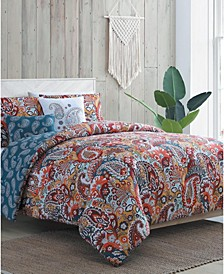 Bree 5-Pc. Full/Queen Duvet Cover Set