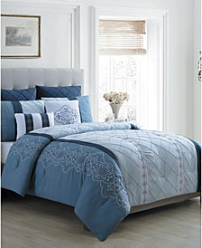 Carmie 7-Pc. King Comforter Set