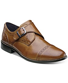 Men's Newton Brogue Monk Strap Shoes
