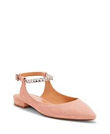Lissa Embellished Ballet Flats