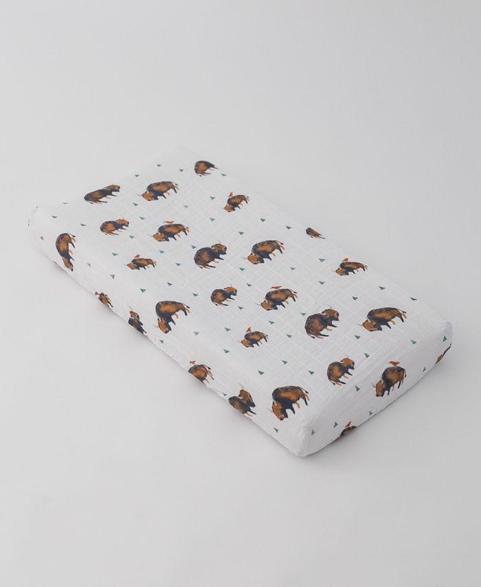 Little Unicorn - Bison Cotton Muslin Crib Sheet