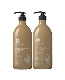 Luseta Beauty Jamaican Black Castor Oil Shampoo & Conditioner Set 67.6 Ounces