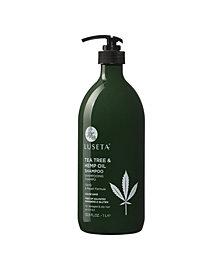 Luseta Beauty Tea Tree & Hemp Oil Shampoo 33.8 Ounces