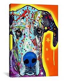 """Great Dane by Dean Russo Wrapped Canvas Print - 26"""" x 18"""""""