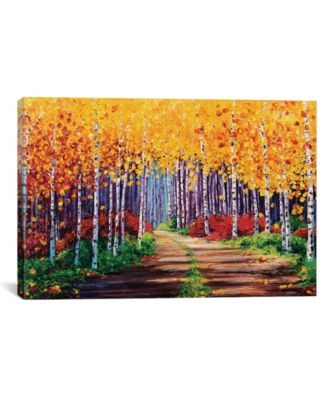 """Traversing by Kimberly Adams Wrapped Canvas Print - 18"""" x 26"""""""