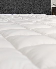 eLuxury Plush Twin XL Mattress Cover with Deep Fitted Skirt