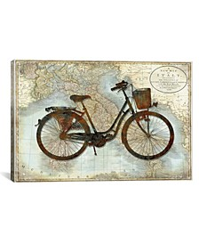 """Bike Italy by Amanda Wade Wrapped Canvas Print - 18"""" x 26"""""""
