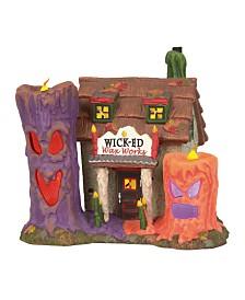 Dept 56 Wicked Wax Works