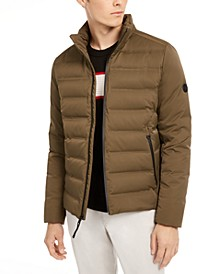 Men's Slim-Fit Seamless Down Puffer Jacket, Created for Macy's