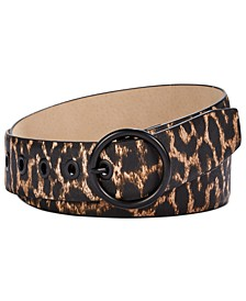 Leopard-Print Belt