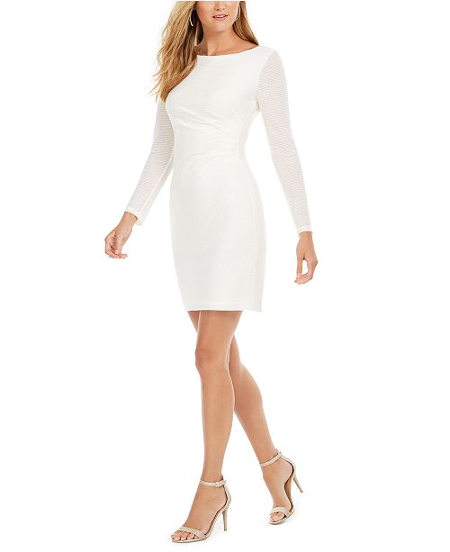 Vince Camuto Sequined Sheath Dress