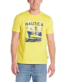 Nautica Men's Blue Sail Logo Graphic T-Shirt, Created for Macy's