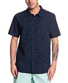 Men's Magnetic Roll Short Sleeve Woven Shirt