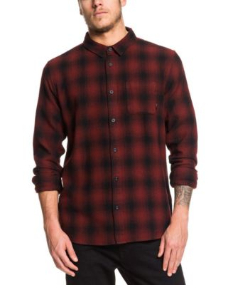 Quiksilver Mens Inca Gold Check Woven Top