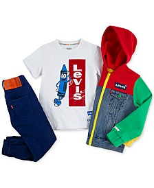 Levi's® x Crayola Colorblock Little Boys Collection