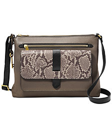 Fossil Kinley Leather Crossbody