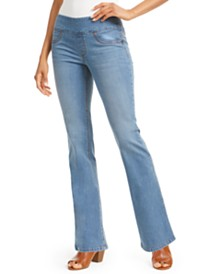 Style & Co Ella Pull-On Bootcut Jeans, Created for Macy's