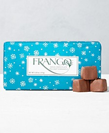 1/3 LB Holiday Wrapped  Sea Salt Caramel Gift Box
