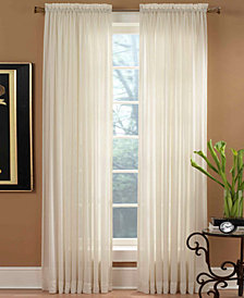"""Miller Curtains Sheer Preston Rod Pocket 51"""" x 108"""" Panel"""