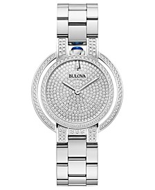 Women's Rubaiyat Diamond (2 1/4 ct. t.w.)  Stainless Steel Bracelet Watch 35mm