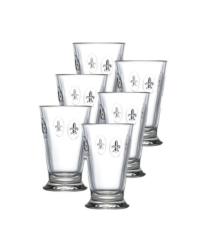 La Rochère - Fleur De Lis Highball Glasses, Set of 6