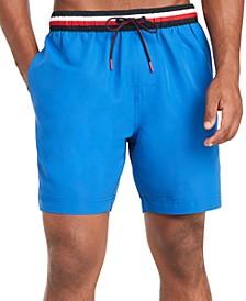 """Men's 7"""" Atlantic Swim Trunks, Created for Macy's"""