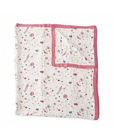 Little Unicorn Fairy Garden Deluxe Muslin Big Kid Quilt
