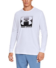 Under Armour Men's Charged Cotton® Logo Long-Sleeve Shirt