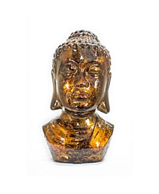 "Namaste Collection 13"" Buddha Lacquered Table Decor"