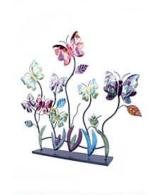Butterfly Collection Lacquered Table Decor