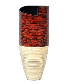 """Ella 20"""" Bamboo Floor Vase"""