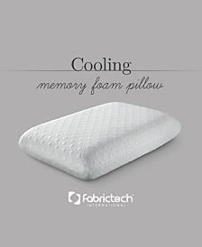 Fabric Tech Cool Cover Memory Foam Standard Pillow
