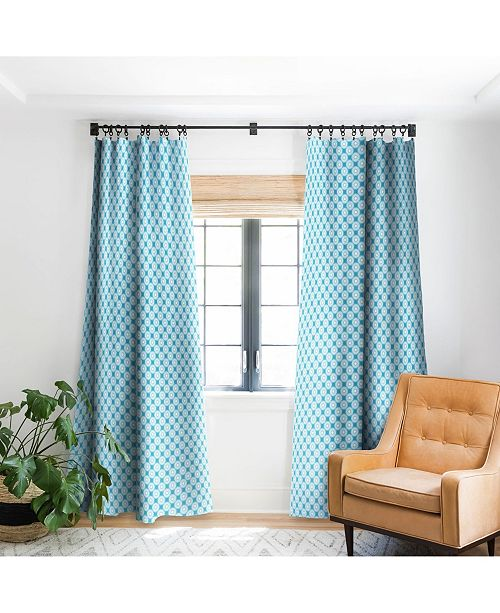 Deny Designs Lisa Argyropoulos Sunflowers and Sky Curtain