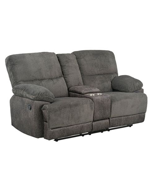 Furniture Caldwell Manual Motion Reclining Loveseat